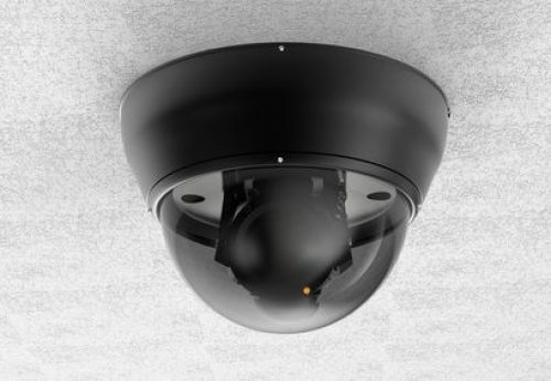 security camera or cctv camera on ceiling
